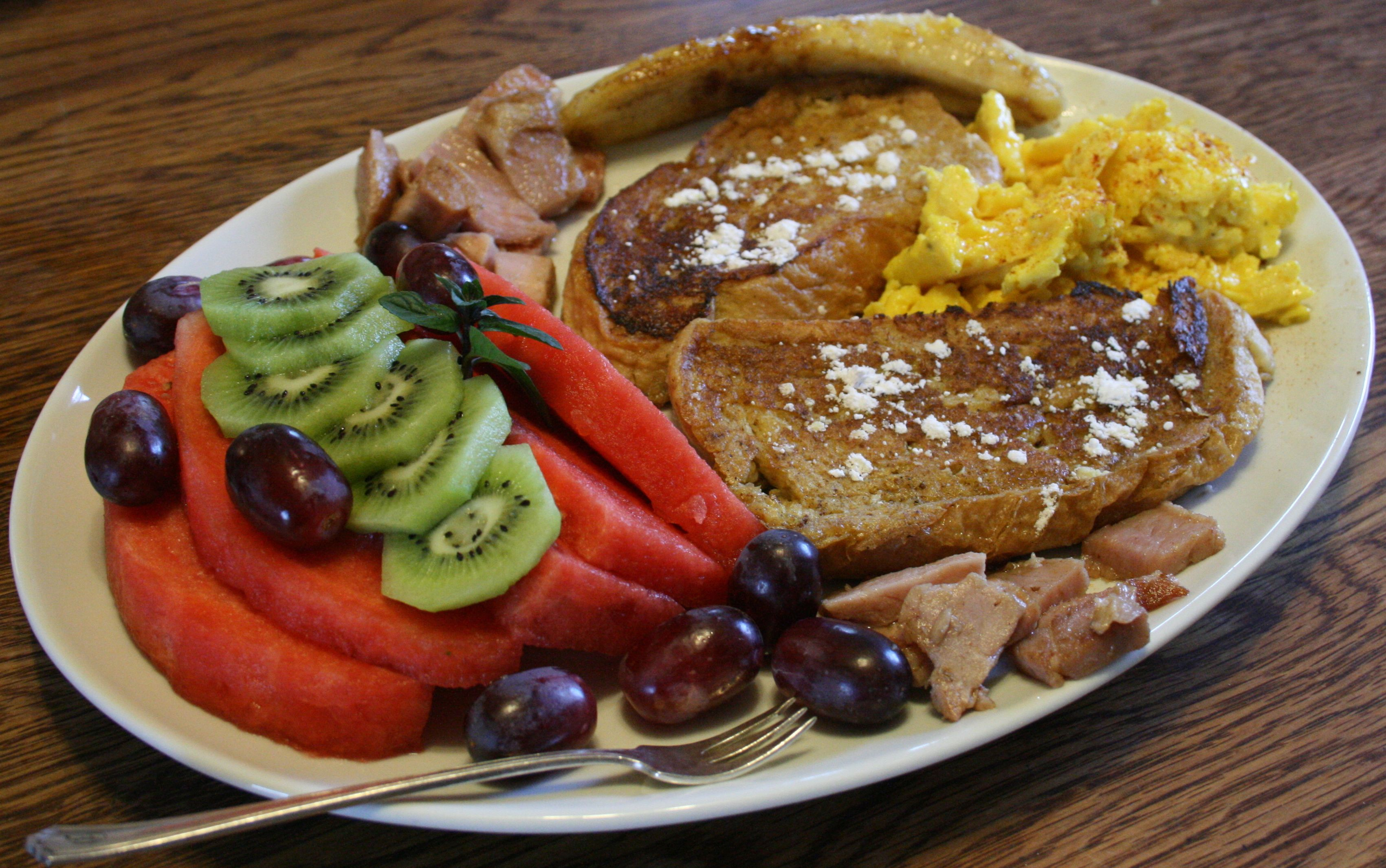 French toast is one of Fran's specialties!